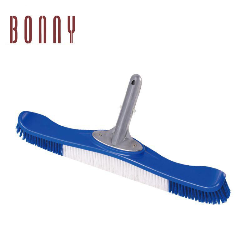 swimming pool air relief valve cleaning aluminum liner weighted transparent flex blue triangular vacuum head brush with swivel