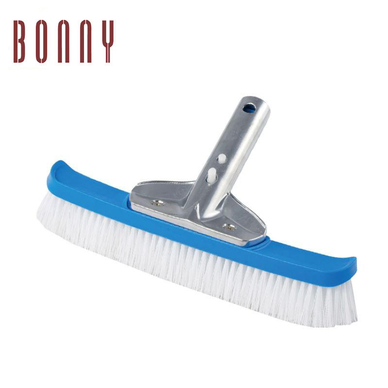 Hot wholesale pool PP wall brush with 10 inch display box