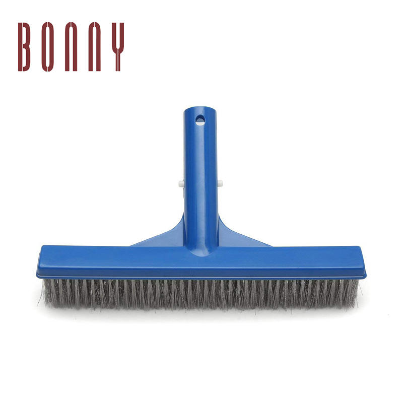 High quality cleaning equipment brushes steel swimming pool wall brush