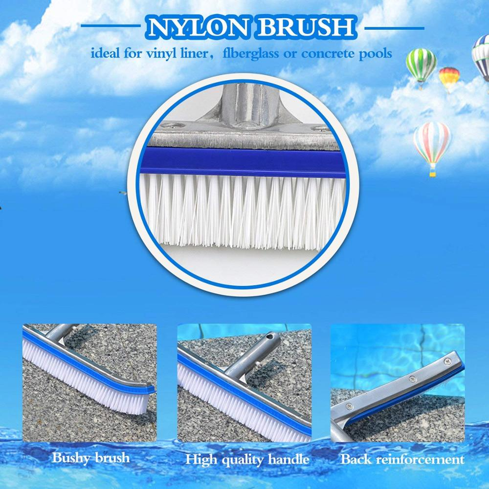 New metal pool brush Suppliers-4