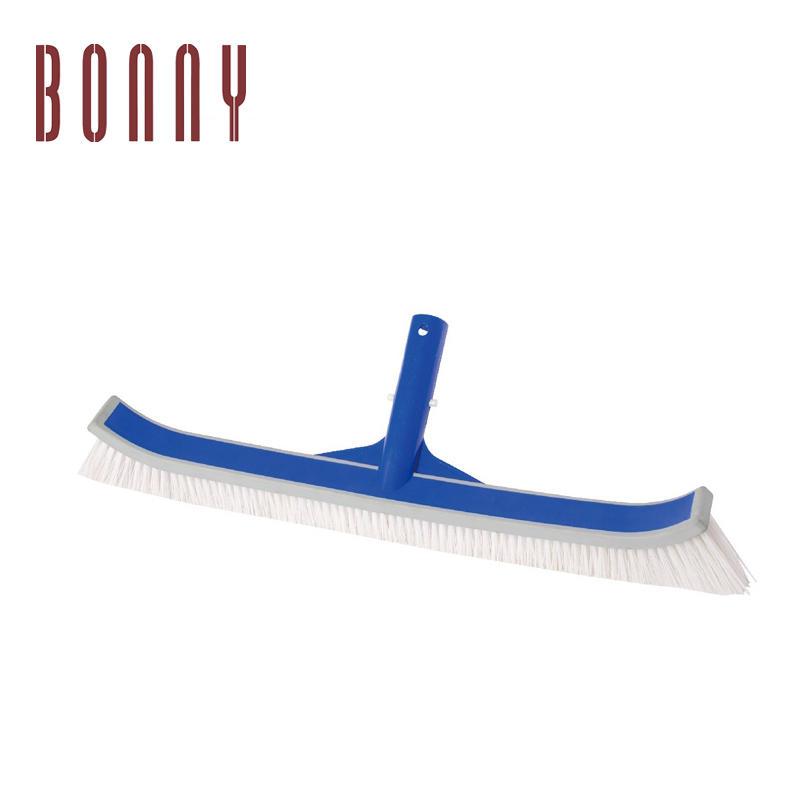 "Wholesale China swimming pool cleaning tool plastic brush vacuum cleaner brush 18"" pool brush"