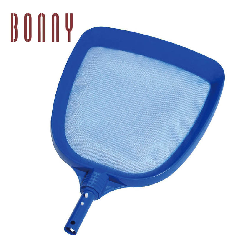 High quality plastic Heavy Duty pool clean leaf skimmers with nylon net in 2019