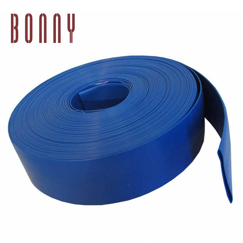 High Quality Flexible blow molded swimming pool vacuum Agricultural Grade Heavy Duty Lay Flat Discharge Hose