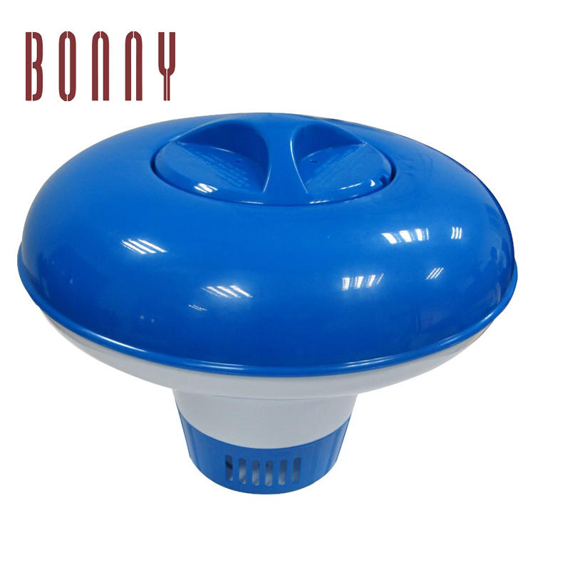 High quality safe and convenient swimming pool water cleaning tool floating pool chlorine dispenser