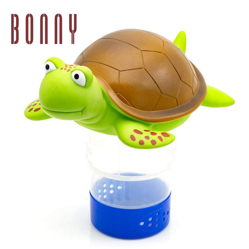 pool duck turtle floating float swimming pool chlorine dispenser for Chemical Tablets Fits 3