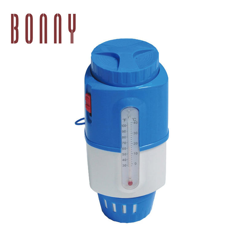 China factory price newest excellent automatic high quality Swimming pool Chlorine Dispenser with Thermometer