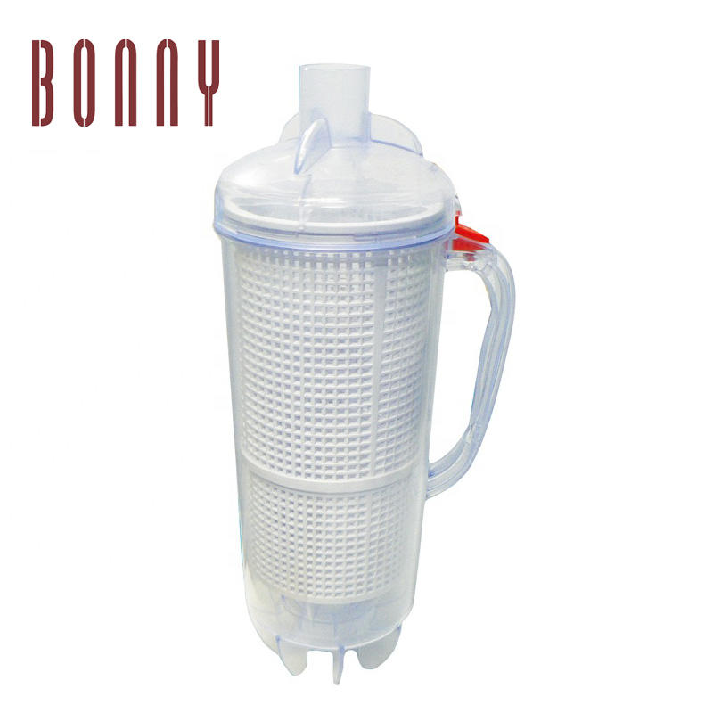 Large Capacity Leaf Canister with Mesh Bag Replacement for Pool and Spa Cleaners pool dispenser