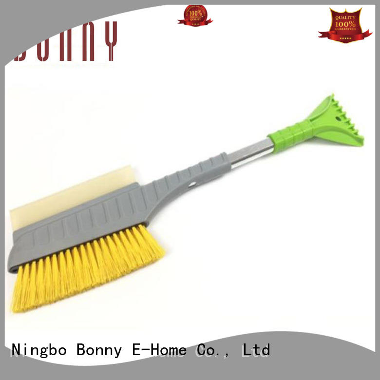 New Design Extendable Hand Plastic Car Snow Cleaning Brush with Foam Grip and Ice Scraper