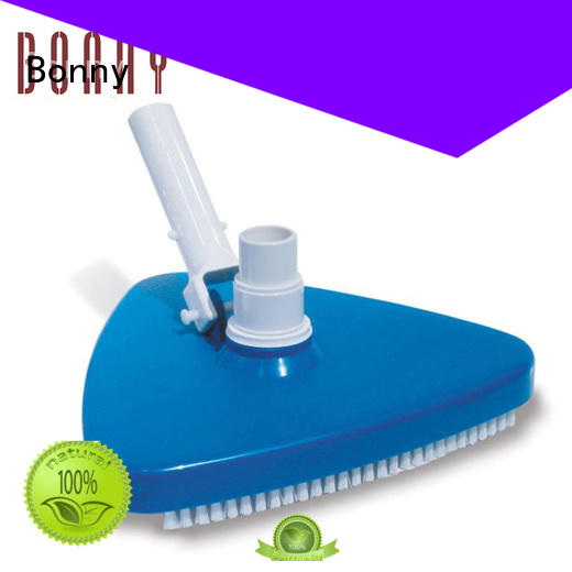 Bonny curved pool brush contact house