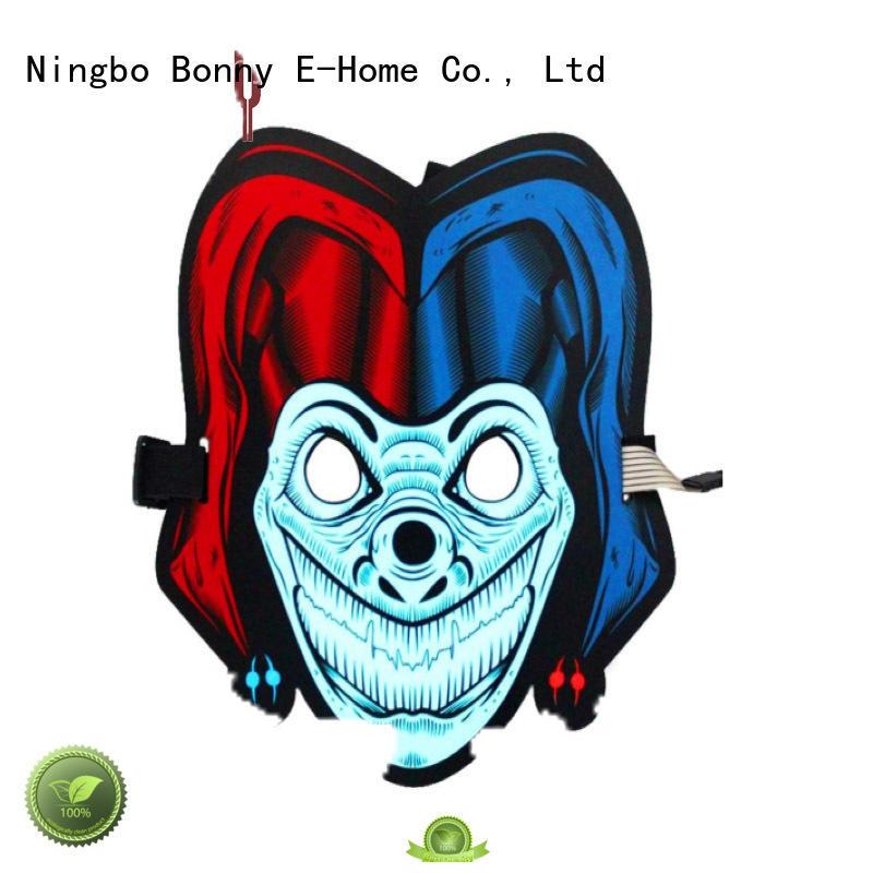Bonny led light up mask wall above